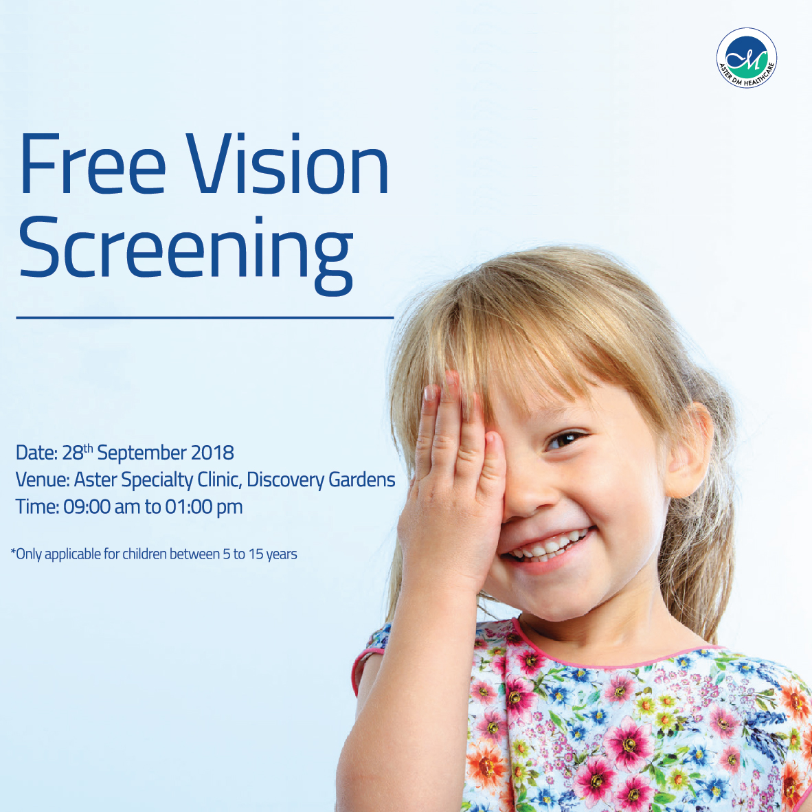 Free Vision Screening coupon