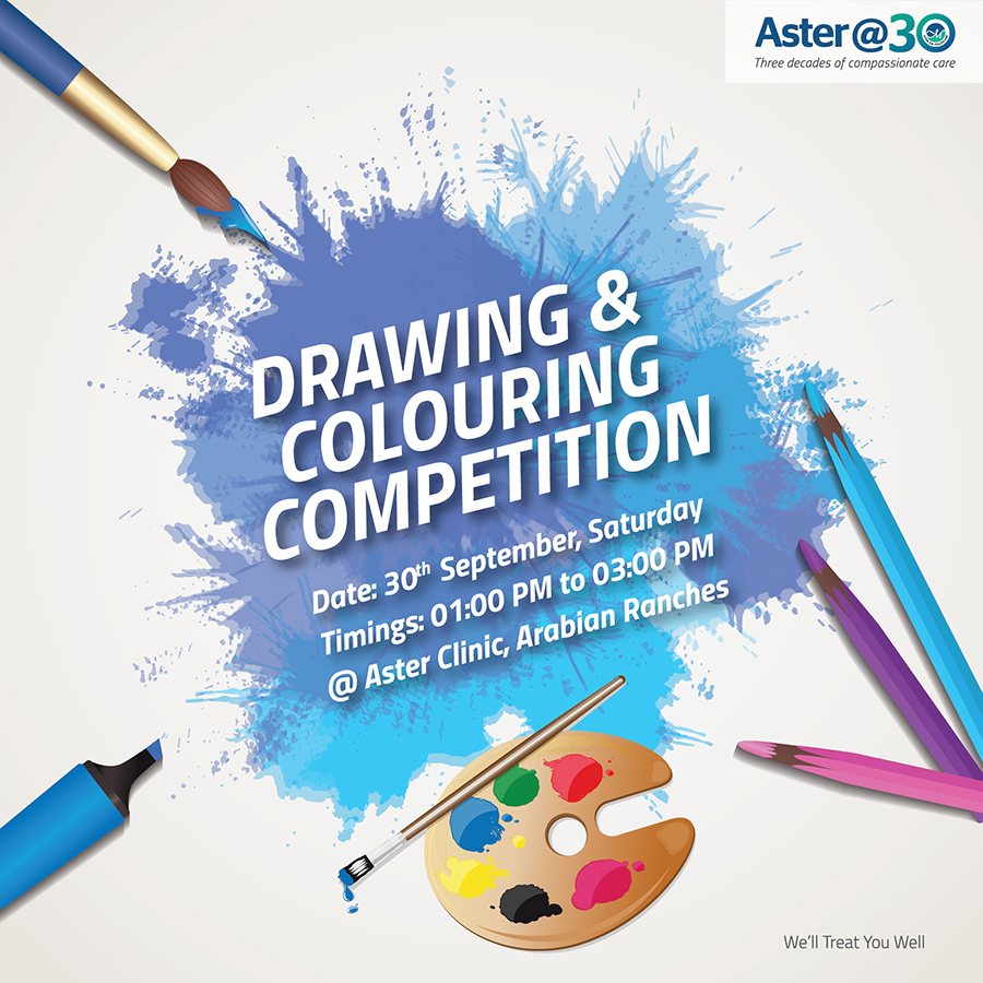 Drawing And Coloring Competition Arabian Rances
