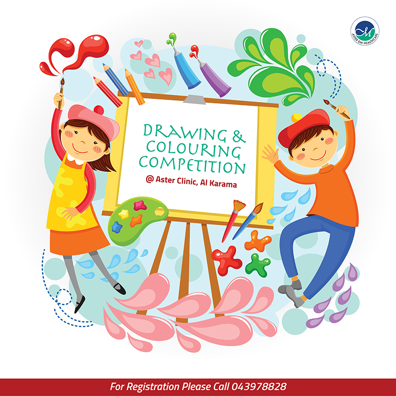 Drawing competition - Aster Clinic, Al Karama